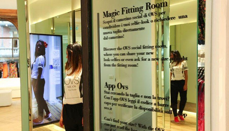 Magic Fitting Room per OVS