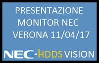 Partecipazione evento NEC – Nuovi monitor 2017