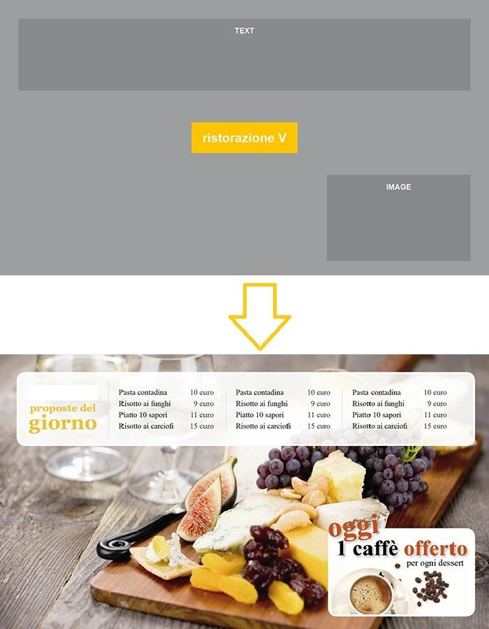 Esempio Impaginazione Vision ristorazione - 1