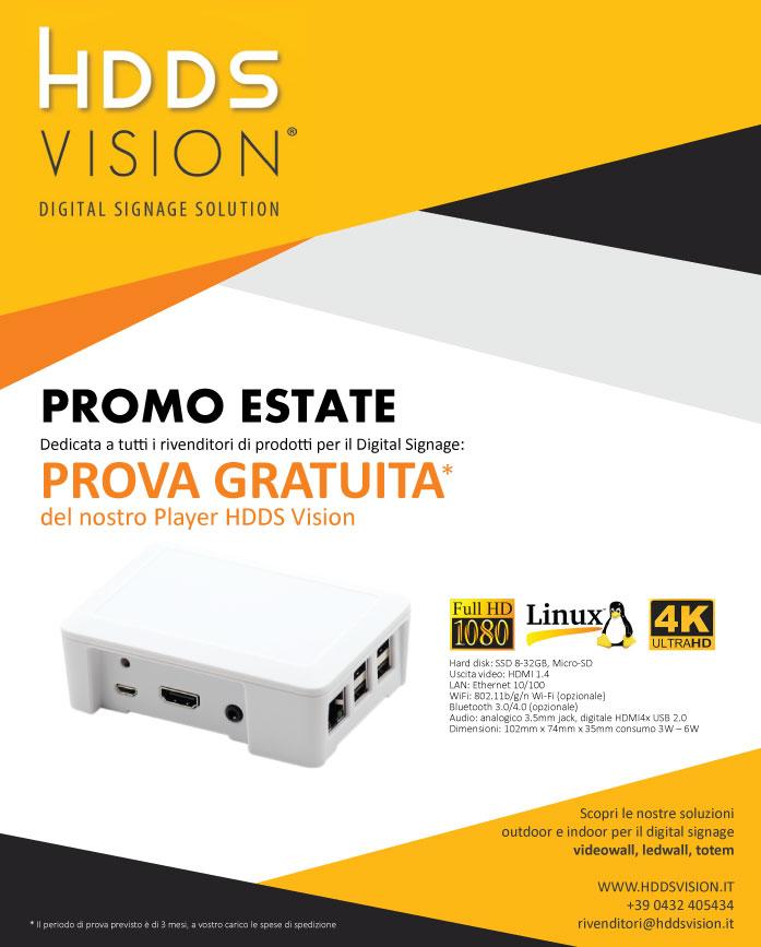 Promo estate 2017 HDDS Vision