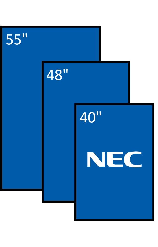 NEC serie P e V - HDDS Vision