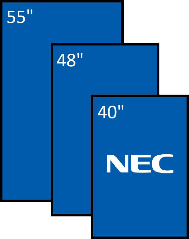 NEC serie P e V – HDDS Vision