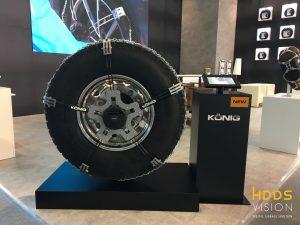 Espositore Ruota camion Konig