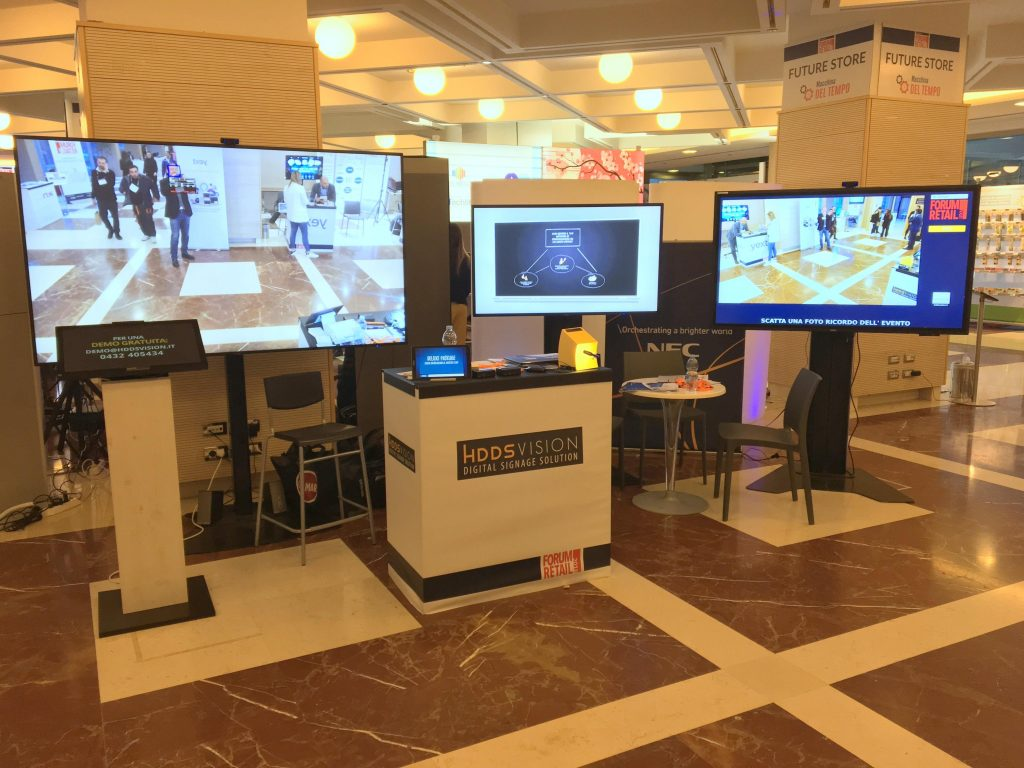 Stand HDDS Vision - Forum Retail 2018